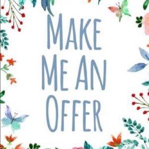 Make me an offer 💗